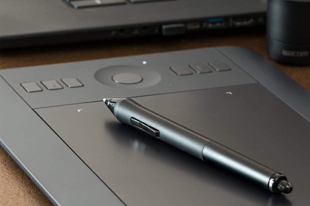 graphic design wacom tablet